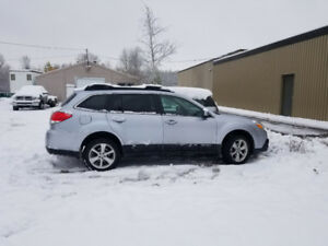 2013 Subaru Outback 6 SPEED MANUAL,  All Wheel Drive CERTIFIED