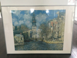 Claude Monet Framed Poster – The Zuiderkerk