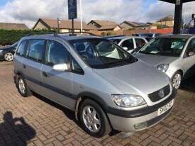 2002 Vauxhall Zafira 1.8 i 16v Elegance 5dr