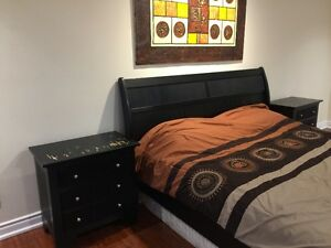 King size bedroom frame