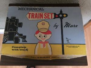 Marx vintage Union Pacific train set