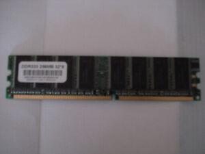Desktop 256 MB RAM DDR333 Memory