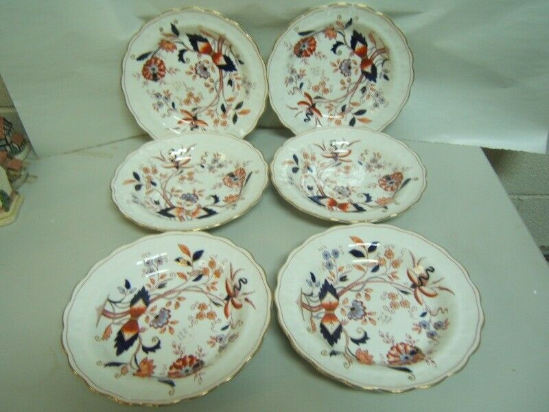 """Booths """"Fresian"""" Soup Bowls Lot of 4  Good Condition"""