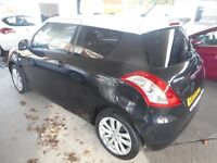 Suzuki Swift SZ-L (cosmic black/sugar white roof) 2014