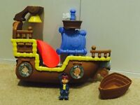 Jake & the never land pirates bath set