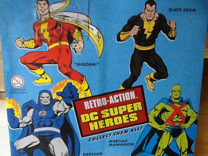 2010 DC RETRO ACTION SUPER HEROE BLACK ADAM London Ontario image 2