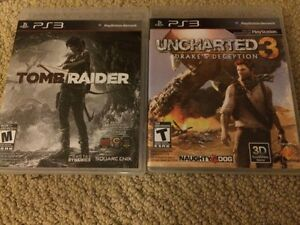PS3 Games-Tombraider, Call Of Duty Black Ops 2