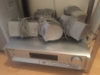 Panasonic surround sound multi DVD player and fm radio