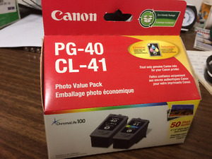 Brand New Canon PG40 and CL41 Ink Refills