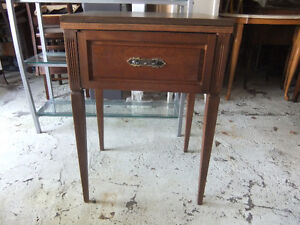vintage sewing table in good cond