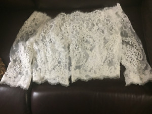 Kenneth Winston Bridal Jacket with buttons - BRAND NEW