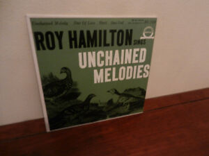 Vinyl Record 45 RPM Roy Hamilton Soul Unchained Melody EP