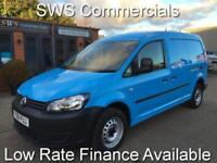 2011 (61) VOLKSWAGEN VW CADDY MAXI 1.6 TDI LWB EX GAS BLUE - 1 OWNER - NICE VAN