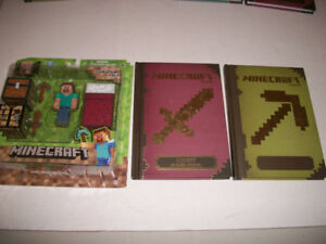 French Minecraft Books and Brand New Toy