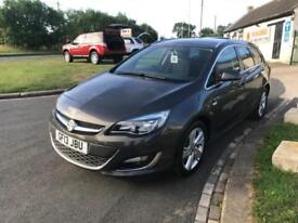 13 VAUXHALL ASTRA 2.0 SRI CDTI ESTATE 39000 MILES NO DEPOSIT FROM £149 A MONTH