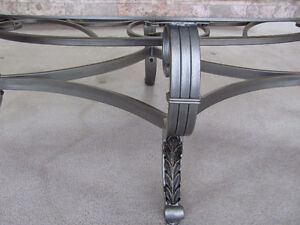 marble/glass coffee table London Ontario image 2