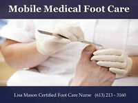 Mobile Medical Foot Care  Caring for your feet at your doorsteps