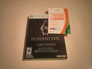 Resident Evil Archives (4 et 5) -Avec carte Xbox Live