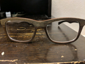 Gold and Wood B16.2 wooden glasses frames