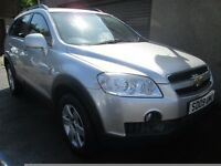 Chevrolet Captiva LT 2.0 VCDI 7 SEAT-MOT'D SERVICED, 3 MONTHS WARRANTY & 12 MONTHS AA COVER INCLUDED