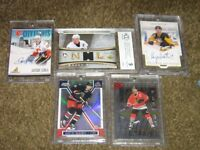 Jersey/Auto/Numbered Hockey Cards+Others