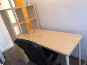 Ikea desk and chair kijiji à québec acheter et vendre sur le