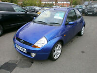 Ford Ka 1.6 2006MY Sport SE P/X TO CLEAR DRIVES WELL