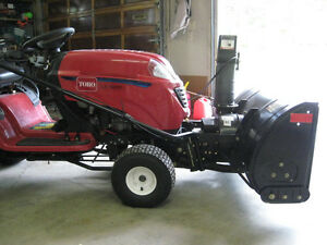 """Snowblower 42"""" attachment for Lawn Tractor for sale $500 obo Prince George British Columbia image 2"""