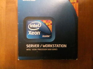 New unopened Sealed Xeon E5630 2.53GHz Server processor