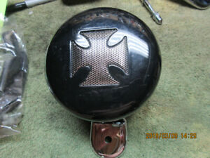 Harley Davidson horn with Maltese Cross Cover