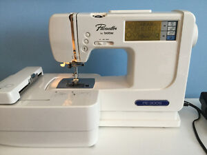 Brother Pacesetter PE300S computerized embroidery Sewing machine