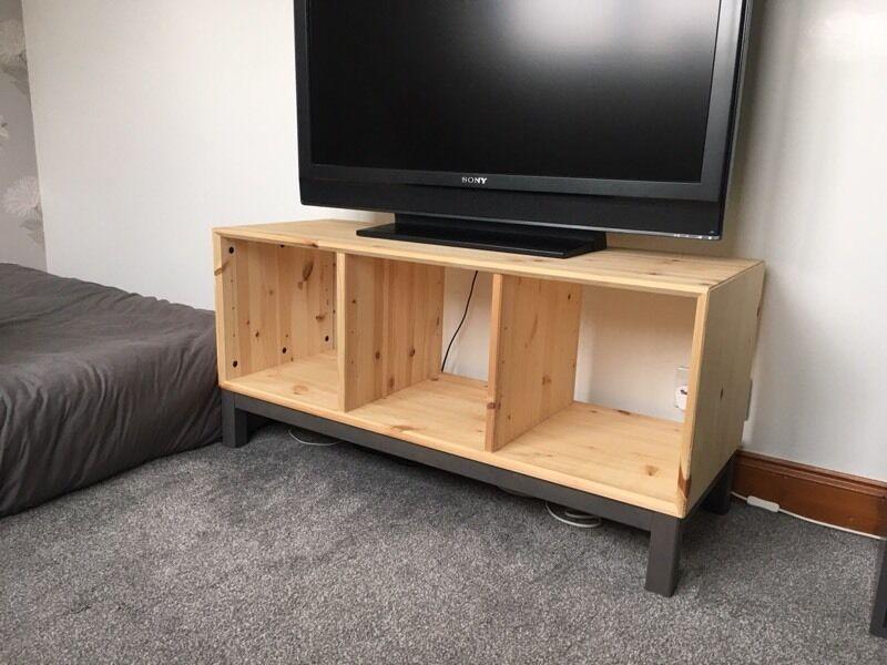 ikea norn s tv unit storage bench in downend bristol. Black Bedroom Furniture Sets. Home Design Ideas