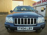 2004 04 JEEP GRAND CHEROKEE 2.7 LIMITED CRD 5D AUTO 161 BHP DIESEL
