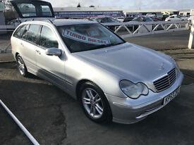 53 REG Mercedes-Benz C220 2.1TD auto CDI Avantgarde SE