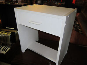 White Night Stand For Sale