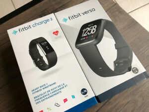 """""""STORES SALES"""" New Sealed Box Fitbit Charge 2, Fitbit Versa"""