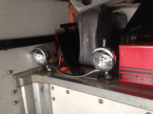 Billet light bar and lights