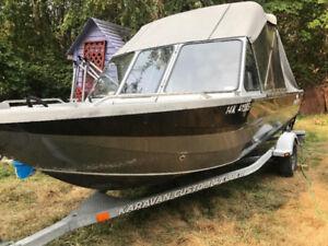 Harbercraft / Kingfisher Welded Aluminium Boat Package