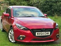 2014 Mazda Mazda3 2.2D SPORT NAV 159 BHP 6 SPEED Saloon Diesel Manual