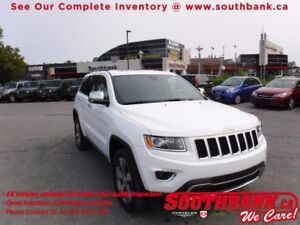 2016 Jeep Grand Cherokee LimitedSunroof, NAV, Heated Leather Sea