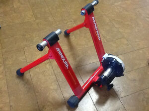 Bicycle stand. Exerciser
