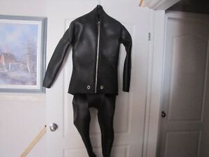 sharkskin cold water dive suit