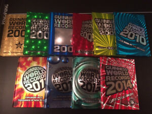 Guinness World Record Books 2005 to 2014 (hard cover)