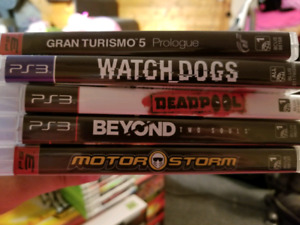 PS3 Games for Sale 10.00 Each