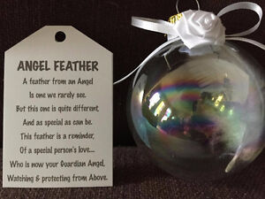 ANGEL FEATHER ORNAMENT