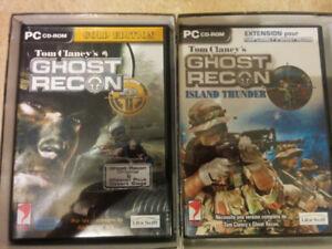 Jeux PC  Ghost Recon Intégrale /Le Parrain 2