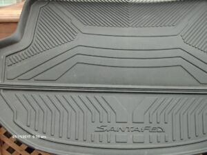 Front Molded winter liner mats and Molded rear cargo floor liner