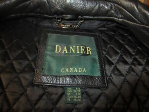BRAND NEW DANIER LEATHER COAT