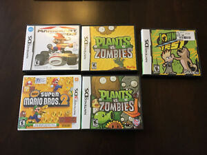 Nintendo 3DS XL, DSi XL, carrying bag, and games
