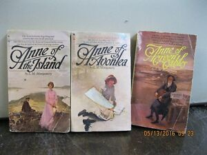 3   BOOKS   BY  L.M   MONTGOMERY